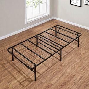 Twin size metal platform bed frame $ $45 for Sale in Phoenix, AZ