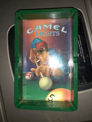 Camel lights vintage ashtray for Sale in Erie, PA