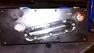 bitspower duel d5 modtop with pumps and aluminium covers included $150 obo for Sale in Montgomery, AL