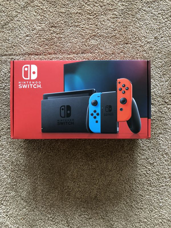 Nintendo Switch Red/Blue