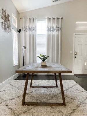 6FT x 3FT Farmhouse Dining Table for Sale in Modesto, CA