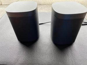 Pair Sonos SL ONE Brand New, Never Been Used, Open Box, Retail $389.99+tax, asking 240 for Sale in Daly City, CA