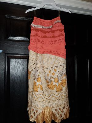 Moana one piece costume dress for Sale in Denver, CO