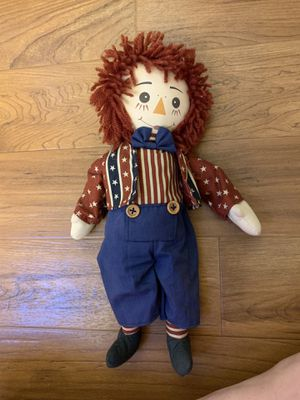 Raggedy Andy for Sale in North Plains, OR