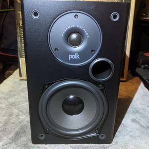 Polk Audio T15 100watt Monitor Speakers for Sale in Las Vegas, NV