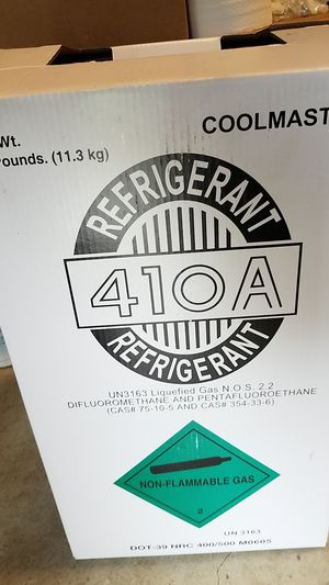 Bottle of Refrigerant Freon 410A for Sale in Santa Fe Springs, CA