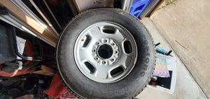 LT245/75/R17 8 nuts wheels with new tires for Sale in San Diego, CA