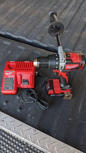 Milwaukee M18 Hammer Drill Driver, Battery, and Charger for Sale in Libertyville, IL