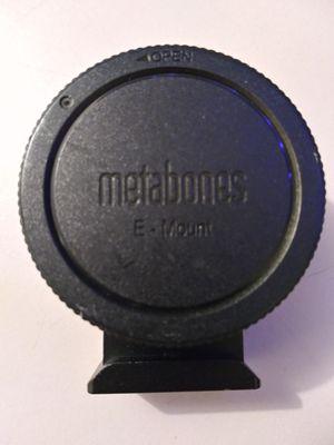 Metabones Speed Booster Ultra for Sale in Riverside, CA