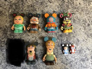"Disney Vinylmations 3"" figures $5 each/$30 for all for Sale in Spring Hill, FL"