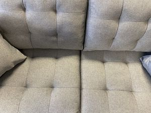 Grey fabric sofa and loveseat for Sale in Washington, DC