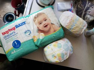 Diapers size 1 for Sale in Joliet, IL