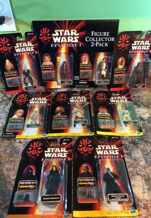 Star Wars Episode 1 Figures for Sale in Cold Spring, KY