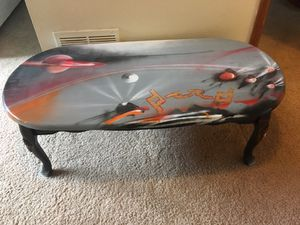 Retro coffee table from outer space for Sale in Denver, CO
