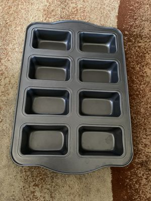 NEW MASTERCRAFT 8 CUP SQUARE BROWNIE PAN NONSTICK BAKEWARE KITCHEN for Sale in Oceanside, CA