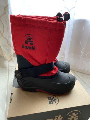 Kamik Kids Snow Boots Size 1 - Like New for Sale in Alafaya, FL
