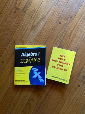 Book-Algebra for Dummies for Sale in New Britain, CT