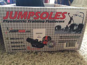 JUMPSOLES Plyometric Training Platforms (+Training Program DVD) for Sale in Victoria, TX