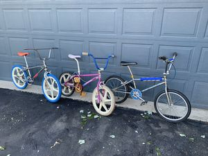 Buying old bmx bikes. Let me know if you have one for sale or want to consider selling for Sale in Irwin, PA