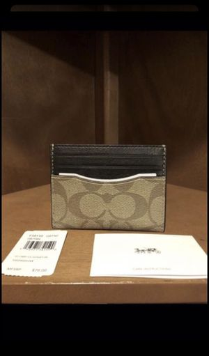 Brand new Coach men's wallet for Sale in Downey, CA