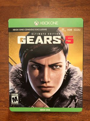 Xbox One GEARS 5 Ultimate Edition Steelbook Included NEW for Sale in Las Vegas, NV