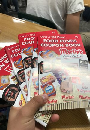 martins coupon book for Sale in Elkhart, IN