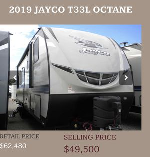 Selling 2019 Jayco Octane T33L Toy Hauler for Sale in Clackamas, OR