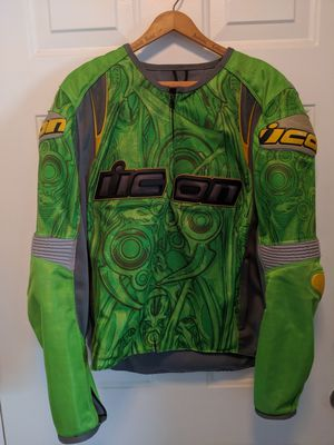 Used SB1 Large Icon Overlord Motorcycle Jacket for Sale in Oldsmar, FL