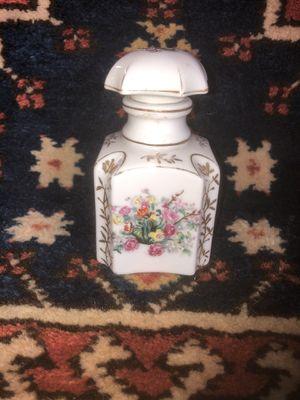 Vintage Porcelain Floral Dresser Bottle for Sale in Whittier, CA
