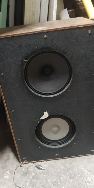 2 box's old Panasonic speakers both work for Sale in Trenton, NJ