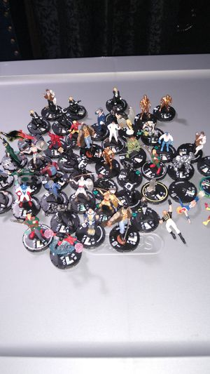 DC Heroclix lot of 47 for Sale in Erie, PA