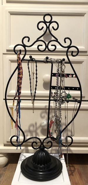 Black Metal Jewelry Holder for Sale in Spring Valley, CA