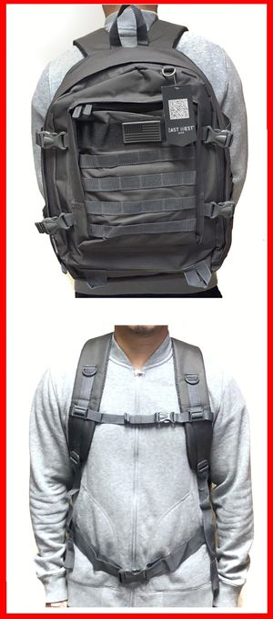 SALE! Tactical military style Backpack molle camping hiking fishing work gym flag school book travel bag for Sale in Long Beach, CA