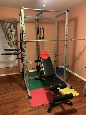 Valor Fitness BD-7 Power Rack w/LAT Pull Attachment for Sale in Clermont, FL