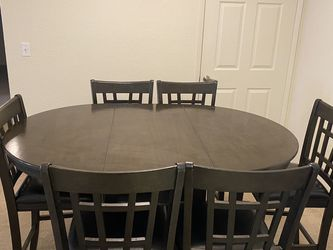 Dining Pub Table With 6 Chairs for Sale in Clovis,  CA