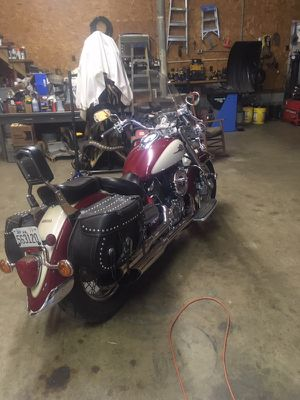 Motorcycle 2001 Yamaha V -star classic. New tires,tune up great running condition selling due to health for Sale in Virgilina, VA