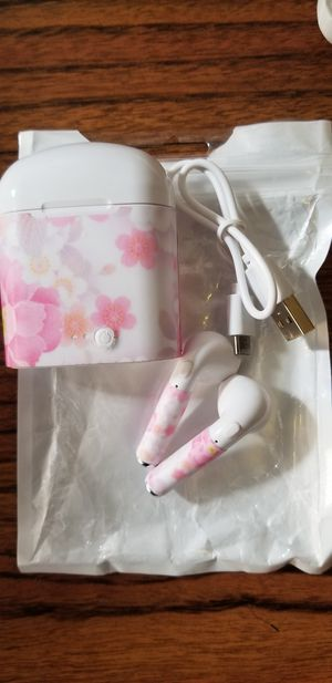 Pink wireless earbuds new rechargeable for Sale in Santa Clara, CA