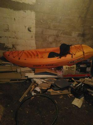 Frenzy ocean kayak for Sale in Pittsfield, MA