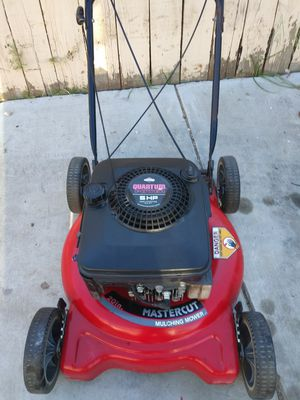 Mastercut push lawn mower works great for Sale in Colton, CA