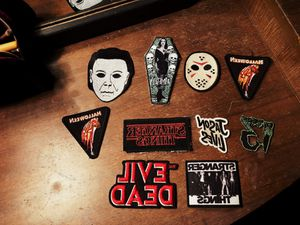 Horror patches and pins for Sale in Davenport, IA