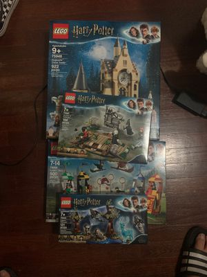 4 Sets of Lego Harry Potter Bundle for Sale in Long Beach, CA