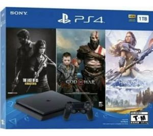 BRAND NEW PS4 1 TB BUNDLE WITH 3 GAMES AND NOISE CANCELLING GAMING HEADSET for Sale in Jonesboro, AR