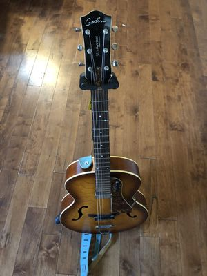 Godin 5th Avenue Archtop acoustic guitar (with pickup) for Sale in Tolleson, AZ