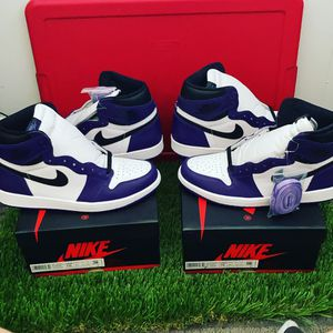 Jordan 1 Court Purple 2.0 DS Size 10 for Sale in Chula Vista, CA