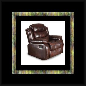 Burgundy recliner chair for Sale in Silver Spring, MD