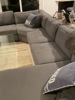 Large Couch Set, Medium Gray for Sale in Westlake Village,  CA