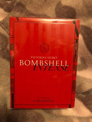 V.S Bombshell intense perfume 3.4 oz $55 for Sale in Moreno Valley, CA