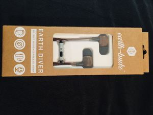 Earth-budz earbuds made with sustainable wood and hemp for Sale in Brandon, FL