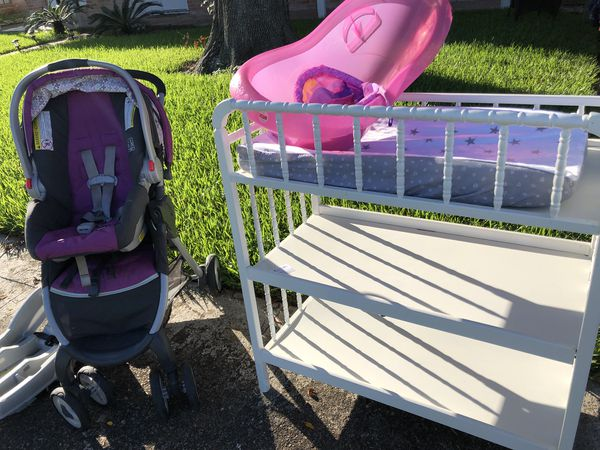 Stroller and car seat Graco
