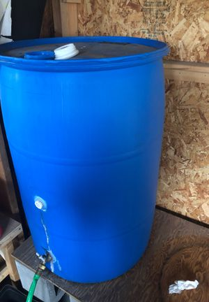 Two 50 gallon water drums for Sale in Olympia, WA